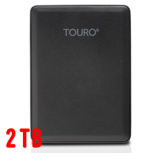 HGST ポータブルHDD2TB 0S03956 Touro Mobile