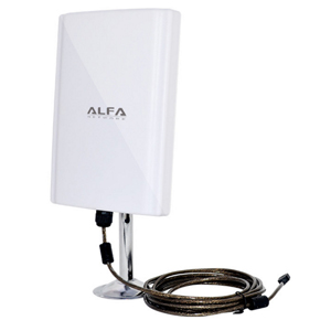 ALFA USB無線LANアダプター High Power 98dbi High Gain 802.11a/b/g/n 150Mbps 5mケーブル AWUS039NH