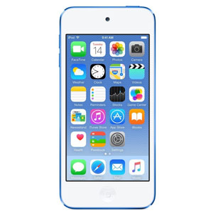 Apple iPod touch 64GB ブルー 第6世代 MKHE2J/A