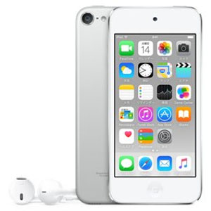 Apple iPod touch 64GB シルバー 第6世代 MKHJ2J/A