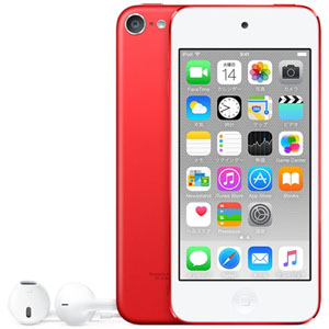Apple iPod touch 128GB レッド 第6世代 MKWW2J/A
