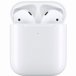 Apple AirPods ワイヤレスヘッドフォン AirPods with Wireless Charging Case 第2世代 MRXJ2J/A
