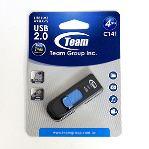 チーム Team チーム USBメモリ 4GB TC1414GL01 USB2.0 Team