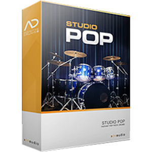 XLN Audio XLN Audio Addictive Drums 2 Studio Pop ADPak 88332