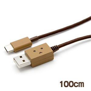 チーロ cheero cheero DANBOARD USB Cable with USB Type-C 100cm CHE-255