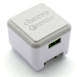 チーロ cheero cheero Quick Charge 3.0 USB Charger CHE-315-WH