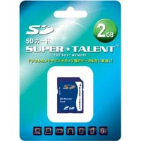 SuperTalent 【SD 2GB】ST02SD