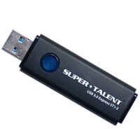 SuperTalent 【USB3.0メモリー 64GB】ST3U64ES12