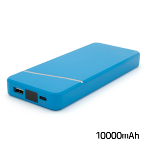 チーロ cheero モバイルバッテリー cheero Stream 10000mAh with Power Delivery 18W CHE-103-BL ブルー