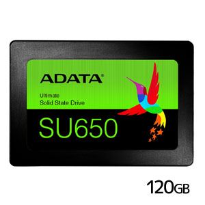 エイデータ ADATA SSD 120GB ASU650SS-120GT-R [120GB SSD Ultimate SU650 2.5インチ SATA 6G 7mm 3D TLC]