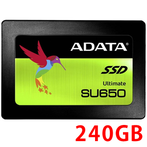 エーデータ A-DATA SSD 240GB Ultimate SU650 ASU650SS-240GT-C