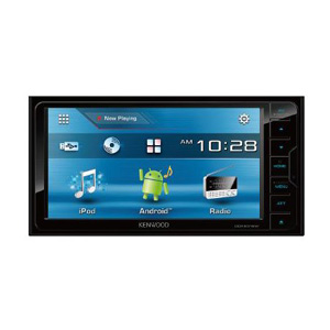 ケンウッド(KENWOOD) DVD/CD/USB/iPodレシーバー MP3/WMA/AAC/WAV対応 DDX6016W