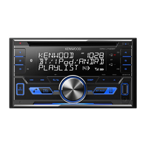 ケンウッド(KENWOOD) CD/USB/iPod/Bluetoothレシーバー MP3/WMA/AAC/WAV/FLAC対応 DPX-U740BT